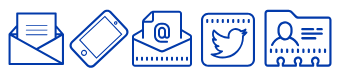 contact methods icons