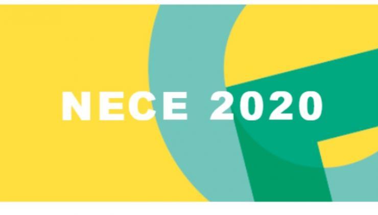 NECE event logo
