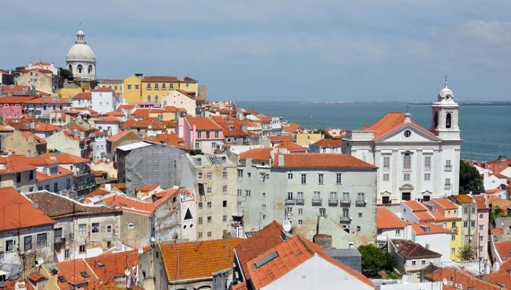 Lisbon city scene